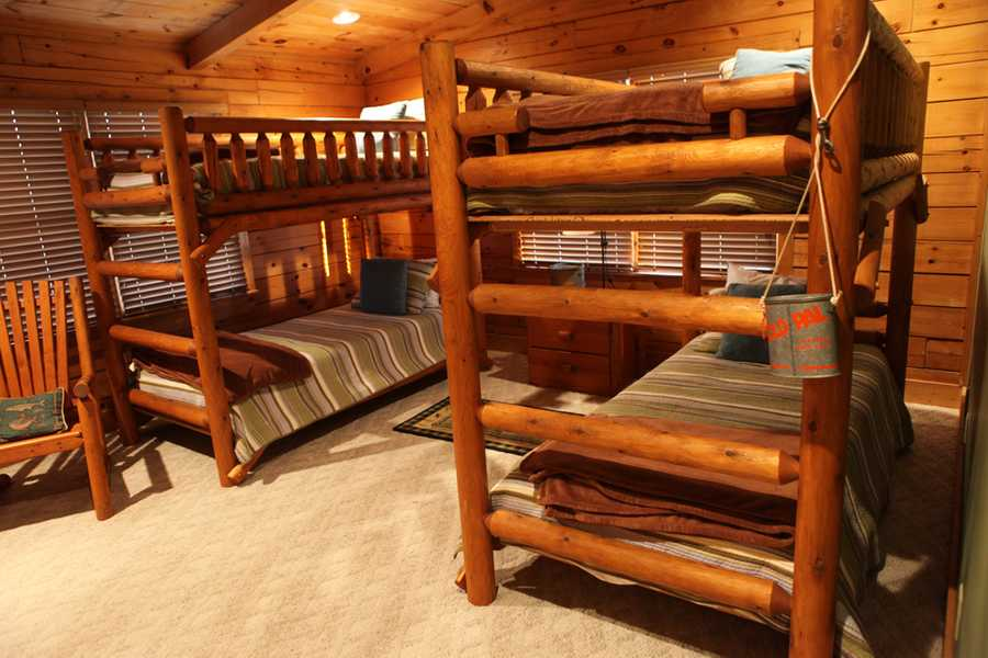 bunk beds from another angle